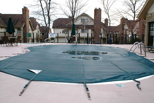 pool maintenance, pool closing